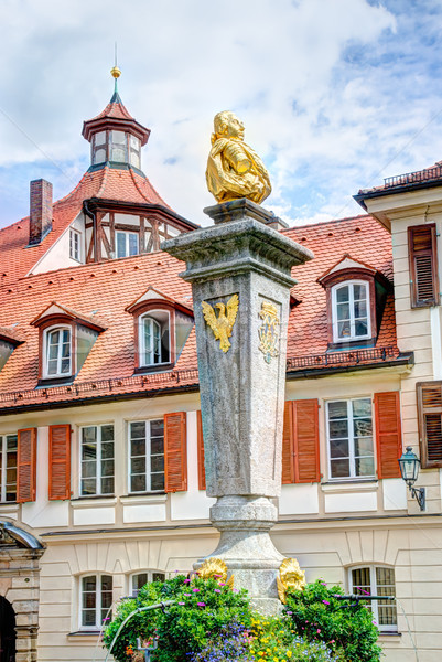 Escultura europa fonte Alemanha ponto de referência Foto stock © manfredxy