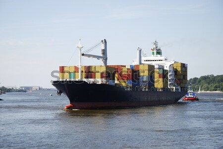 Cargo ship Stock photo © manfredxy
