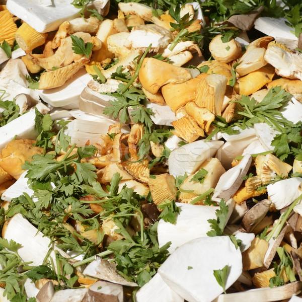Mixed Mushrooms Stock photo © manfredxy