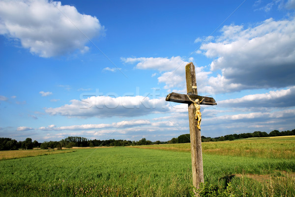 Country cross Stock photo © manfredxy