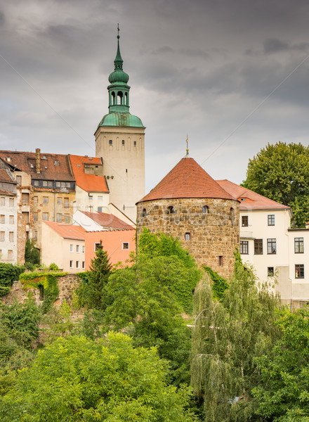Historic old town of Bautzen Stock photo © manfredxy