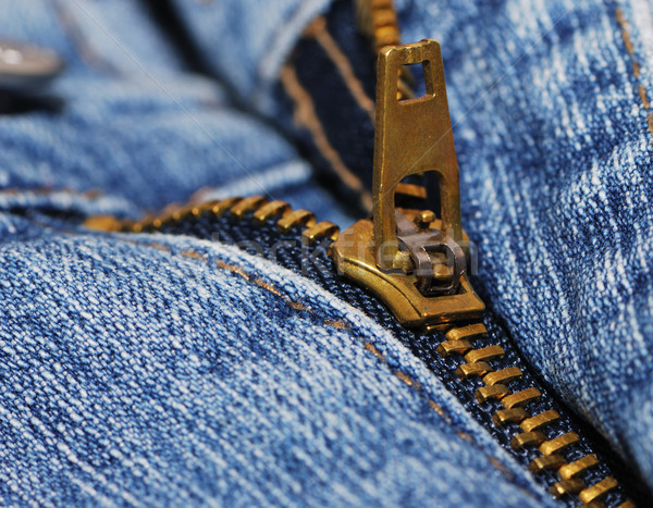 zipper of a jeans Stock photo © manfredxy