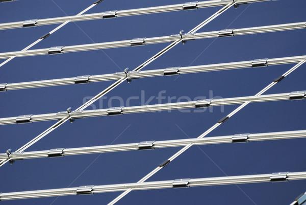 Solar panel background Stock photo © manfredxy