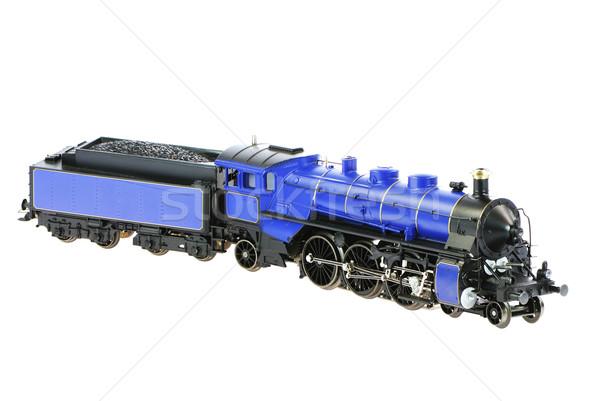 игрушку изолированный уголь ретро двигатель Сток-фото © manfredxy