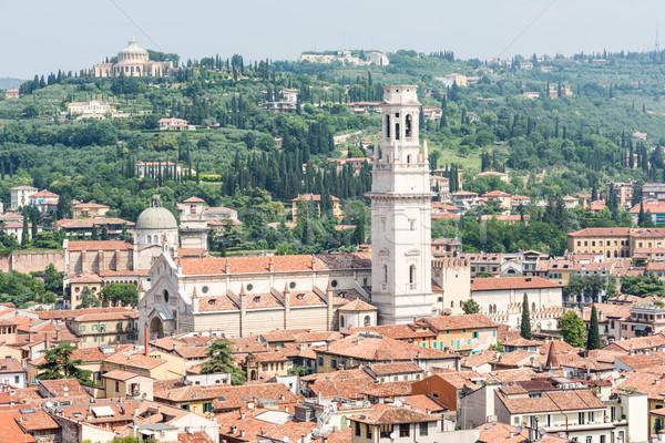 Foto stock: Cityscape · verona · ver · cidade · Itália · edifício