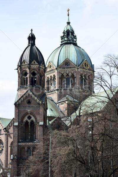 Церкви Мюнхен здании Готский религии Сток-фото © manfredxy