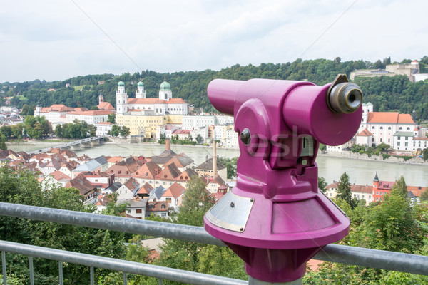 Viewpoint in Passau Stock photo © manfredxy