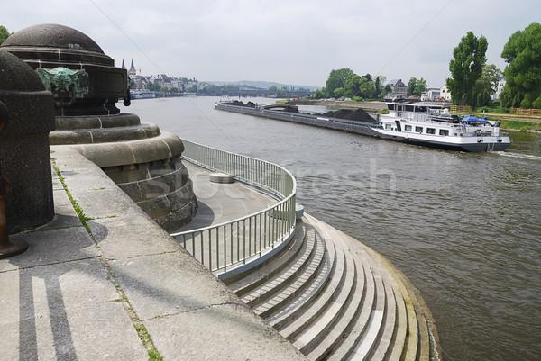 транспорт судно реке воды лодка Сток-фото © manfredxy
