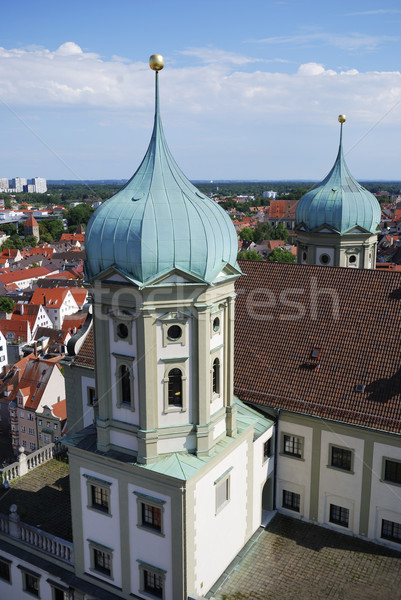 Augsburg Stock photo © manfredxy