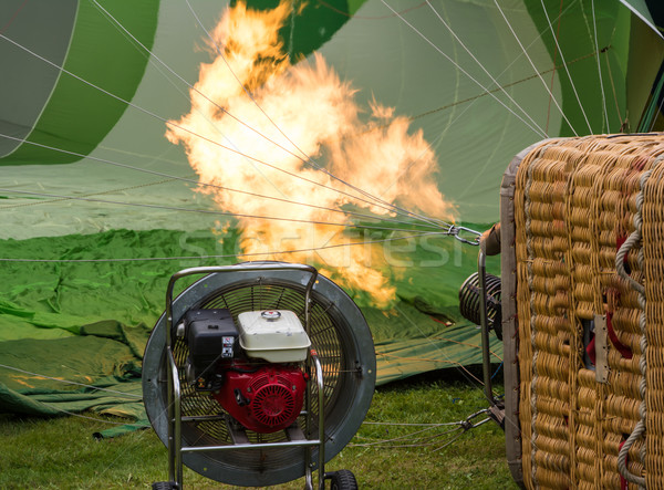 Hot Air Balloon Burner Stock photo © manfredxy