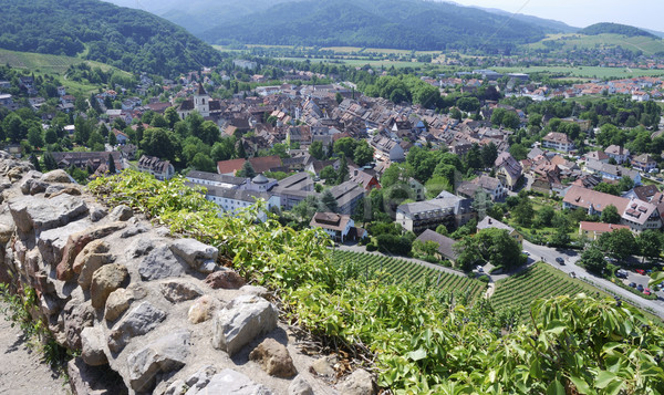 View over Staufen Stock photo © manfredxy