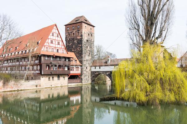 Medieval Nuremberg Stock photo © manfredxy