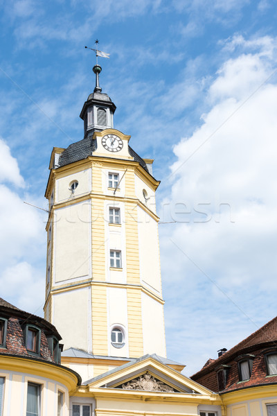 The Herrieder Tor city gate in Ansbach Stock photo © manfredxy