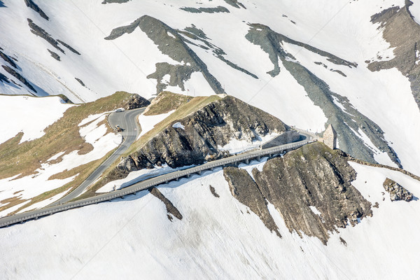 Alto alpino strada montagna Austria Foto d'archivio © manfredxy