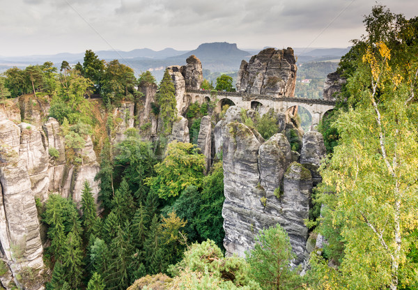 Bastei Bridge Stock photo © manfredxy