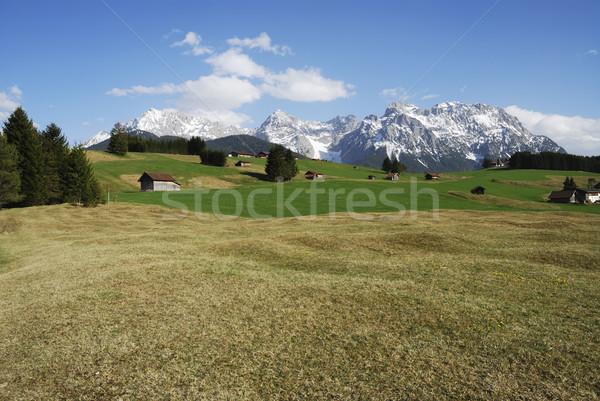 Karwendel Mountains Stock photo © manfredxy