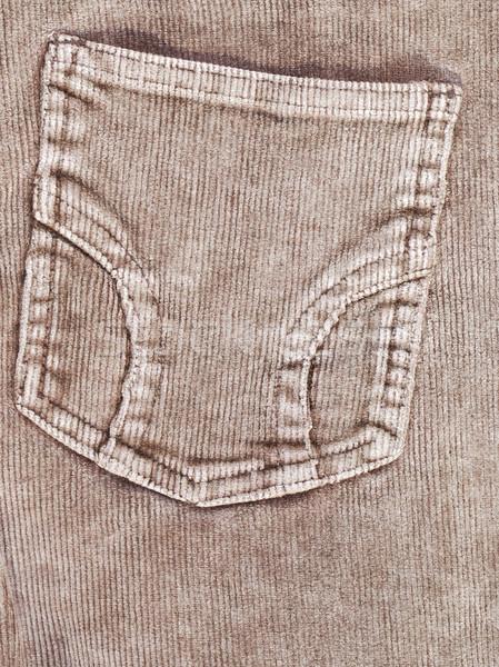 Trouser pocket Stock photo © manfredxy