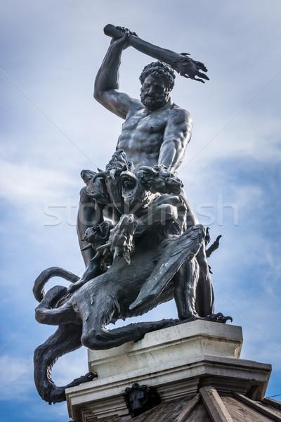 Herkules Fountain Stock photo © manfredxy