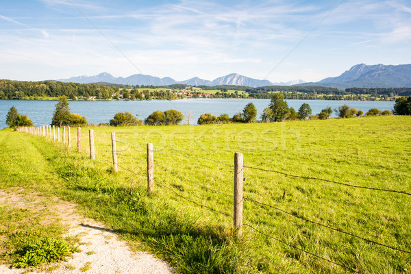 Lake Riegsee in Bavaria Stock photo © manfredxy