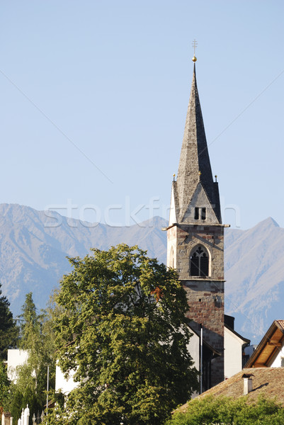 Church in South Tyrol Stock photo © manfredxy