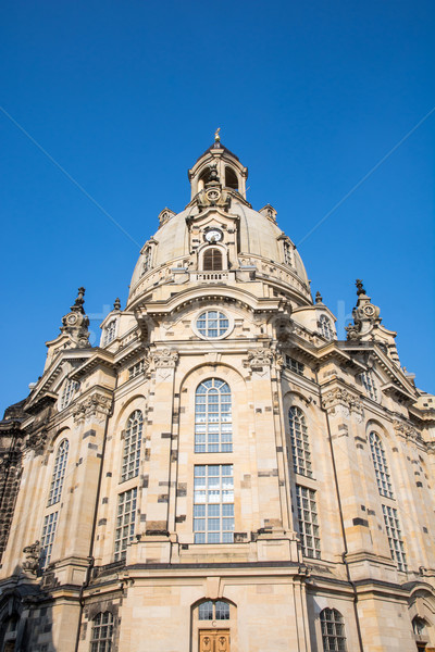 Dresden Frauenkirche Stock photo © manfredxy