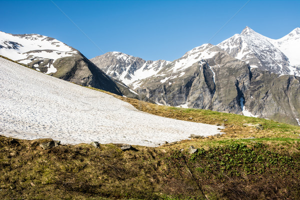 Hohe Tauern Mountain Range in Spring Stock photo © manfredxy
