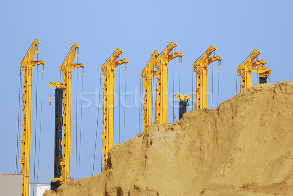Drilling rigs Stock photo © manfredxy