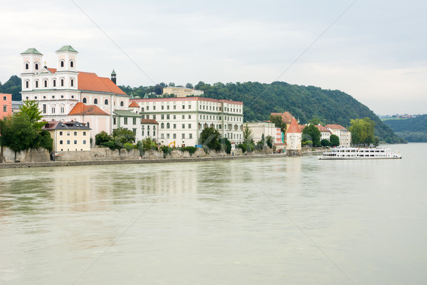 River Inn in Passau Stock photo © manfredxy