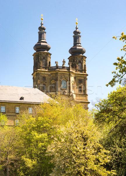 Manastır Bina kilise mimari Avrupa Almanya Stok fotoğraf © manfredxy