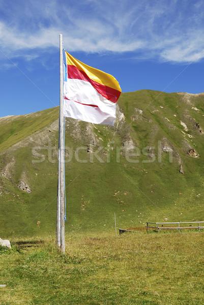 Flag of Austria Stock photo © manfredxy