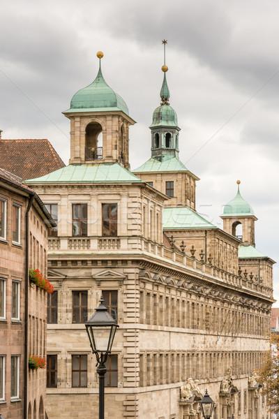 Historic Rathaus of Nuremberg Stock photo © manfredxy