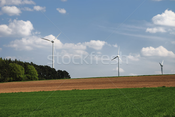 Wind power Stock photo © manfredxy