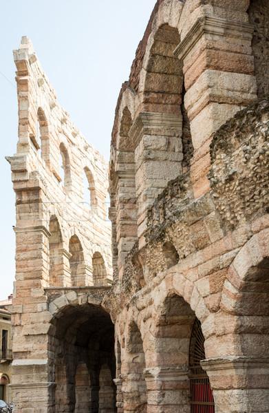 Verona arena antigo romano anfiteatro Itália Foto stock © manfredxy