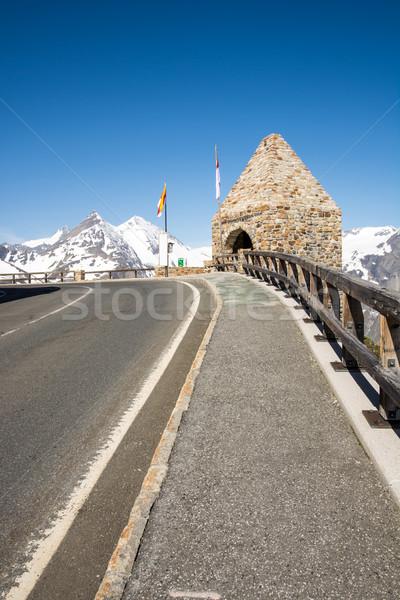Grossglockner High Alpine Road Stock photo © manfredxy