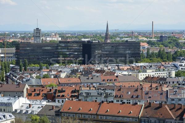 Мюнхен Cityscape город городского архитектура Сток-фото © manfredxy