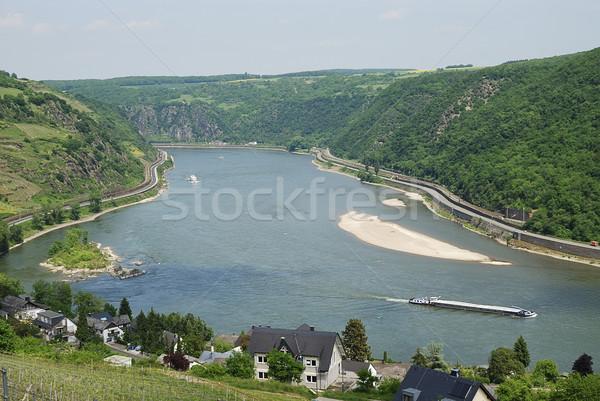 Rhine Gorge Stock photo © manfredxy