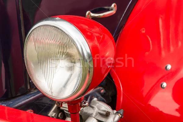 Old-Timer Headlight Stock photo © manfredxy