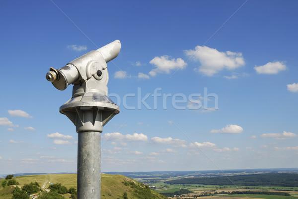 Moneta telescopio top Hill Foto d'archivio © manfredxy