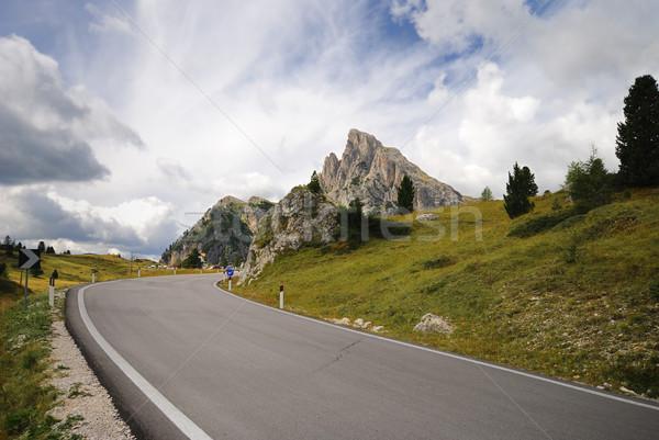 山 合格 通り 風景 ルート イタリア ストックフォト © manfredxy