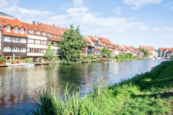 Little Venice in Bamberg Stock photo © manfredxy