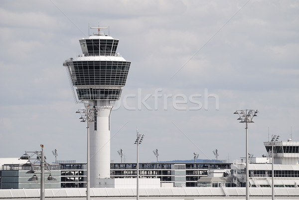 Airport tower Stock photo © manfredxy