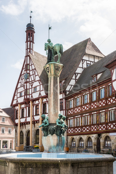 Forchheim Town Hall Stock photo © manfredxy
