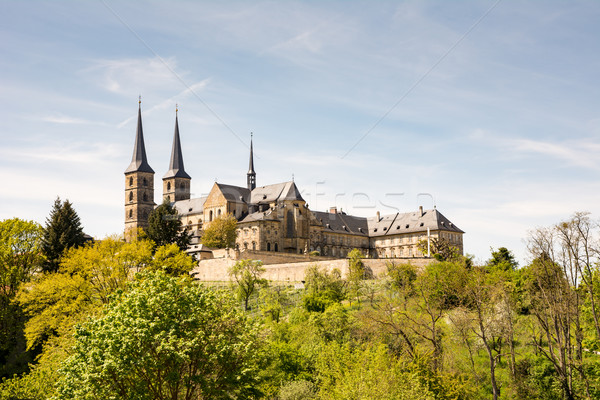 Kloster Michelsberg abbey in Bamberg Stock photo © manfredxy