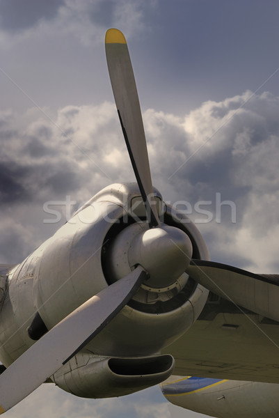 Vintage aircraft Stock photo © manfredxy