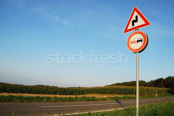 Stock photo: Traffic sign