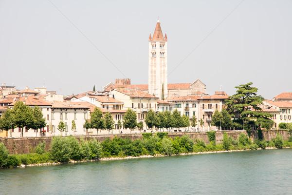 River Adige in Verona Stock photo © manfredxy
