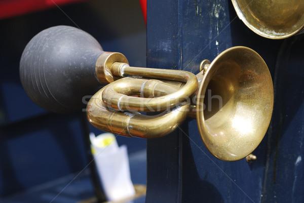 Stock photo: Vintage Signal Horn