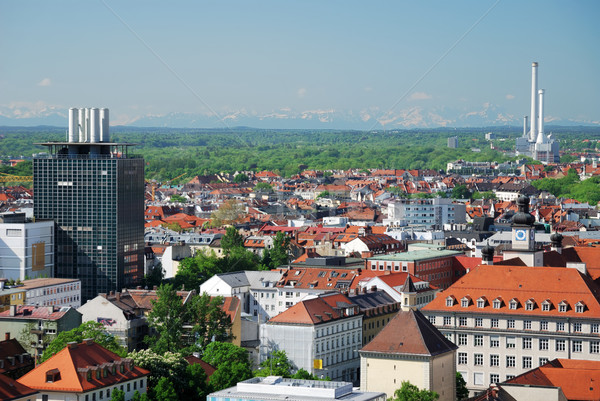 View over Munich Stock photo © manfredxy