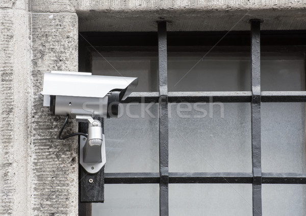 CCTV at Prison Bars Stock photo © manfredxy