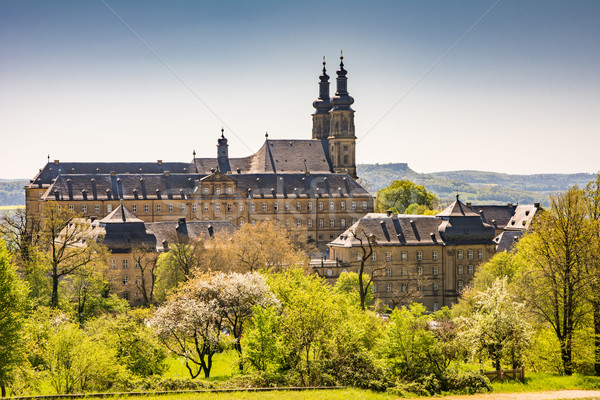 Benedictine Monatery Banz Abbey Stock photo © manfredxy